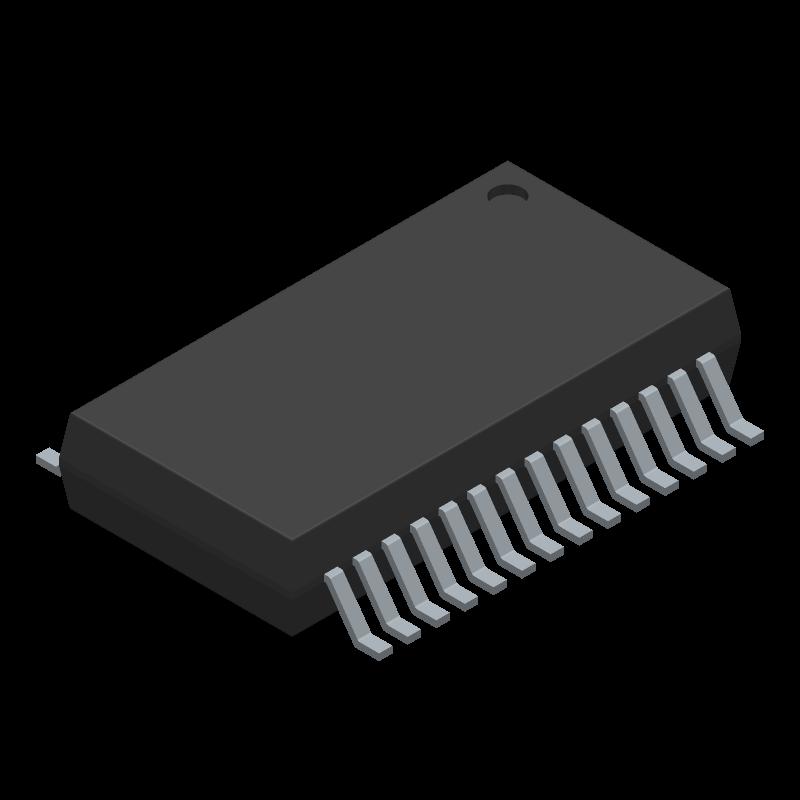 40MHZ 32BIT SSOP-28 MICROCHIP   PIC32MX250F128B-I//SS   MCU PIC32