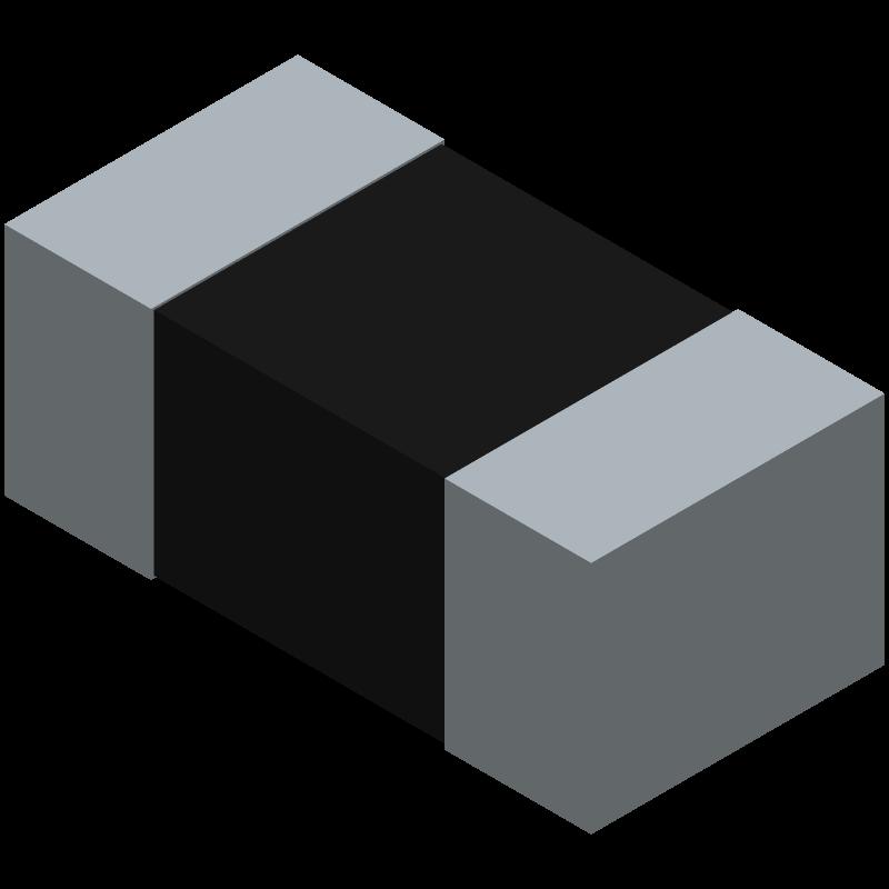 CRCW0402330RJNED - Vishay - 3D model - Resistor Chip - CRCW0402