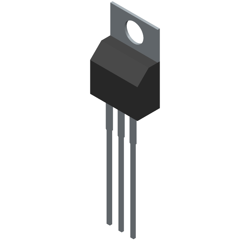 IRFB4227PBF - Infineon - 3D model - Transistor Outline, Vertical - TO-220AB_1