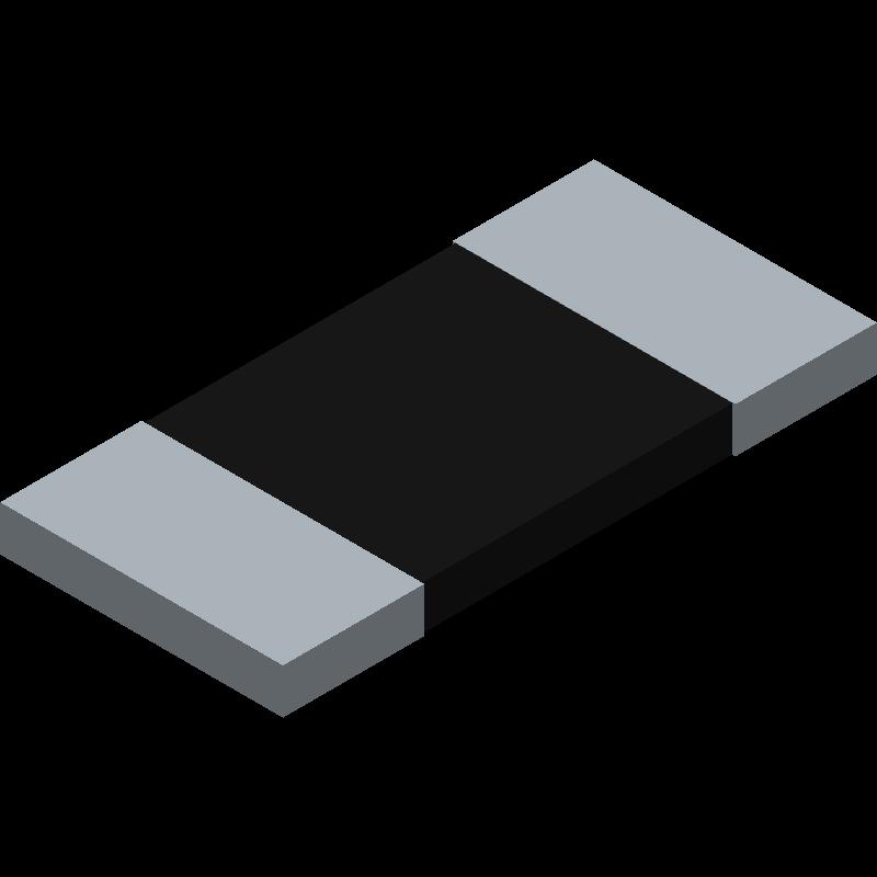 CRS1050 R0005 F 75PPM TR - Arcol - 3D model - Resistor Chip - CRS1050