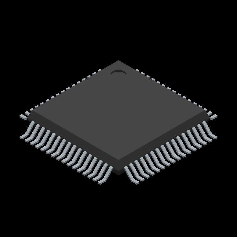 CPLD EQFP 54 I//O/'s 118.3 MHz 64 FLASH 64 Pins