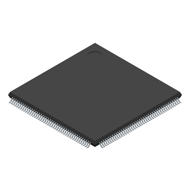 TMS320F28335PGFA - Texas Instruments - 3D model - Quad Flat Packages - PGF (S-PQFP-G176)