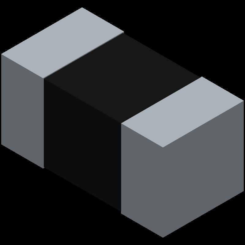 CPF0201D10KC1 - TE Connectivity - 3D model - Resistor Chip - CPF0201