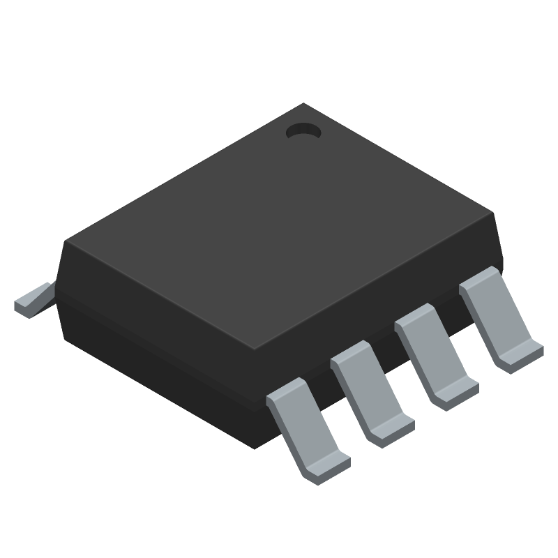 FAN73611MX - Fairchild Semiconductor - 3D model - Small Outline Packages - SOIC8