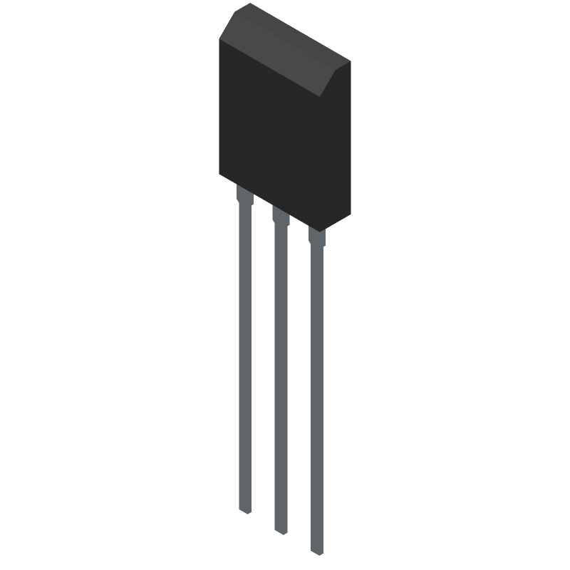 FDH44N50 - Fairchild Semiconductor - 3D model - Transistor Outline, Vertical - TO-247