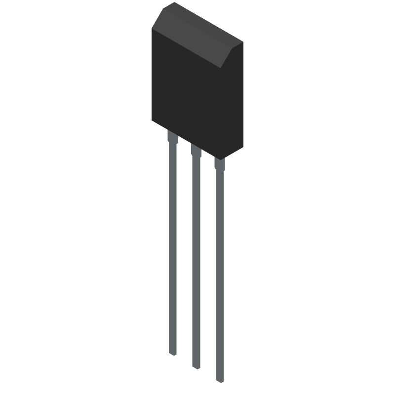 IXFH30N50Q3 - IXYS SEMICONDUCTOR - 3D model - Transistor Outline, Vertical - TO-247