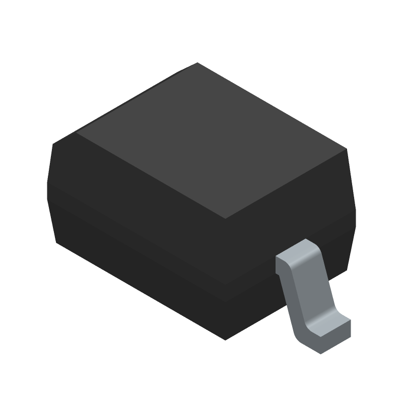 1N4148WS-E3-08 - Vishay - 3D model - Small Outline Diode - SOD-323