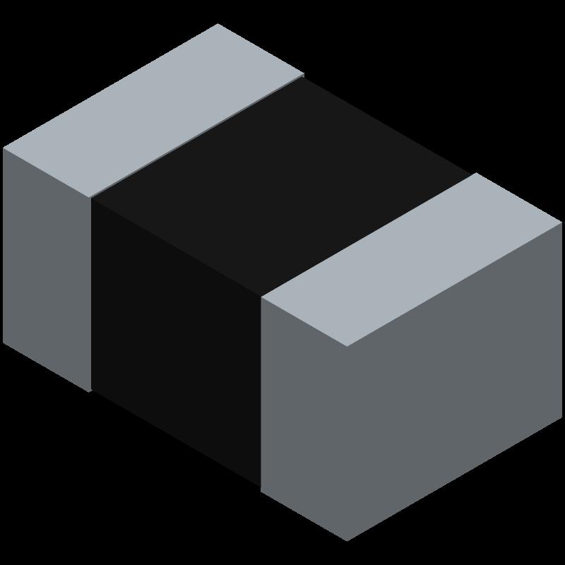 C0805X103F5GACAUTO - Kemet - 3D model - Resistor Chip - 0805