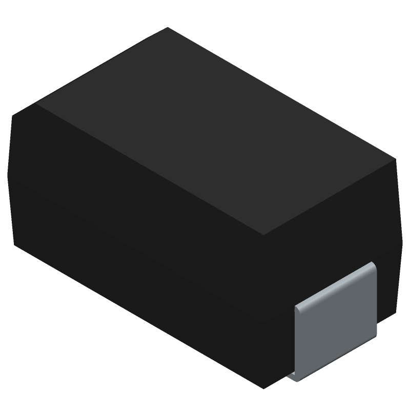 SS34A - HY Electronic Corp - 3D model - Diodes Moulded - SMA