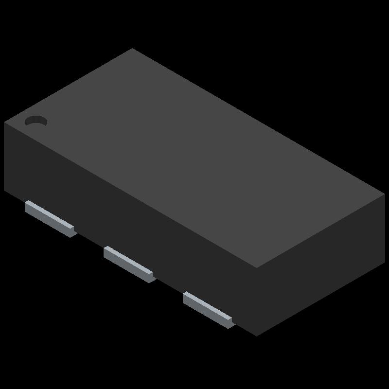 0900BL18B100E - JOHANSON TECHNOLOGY - 3D model - Small Outline No-lead - SMD