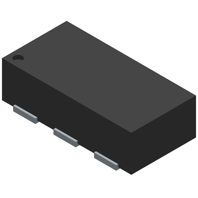 0900BL18B100E - JOHANSON TECHNOLOGY - 3D model - Small Outline No-lead - 0900BL18B100E