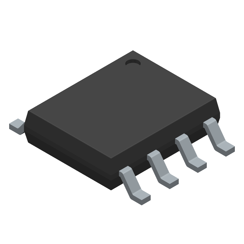 IXDN609SI - IXYS SEMICONDUCTOR - 3D model - Small Outline Packages - 8-Pin Power SOIC