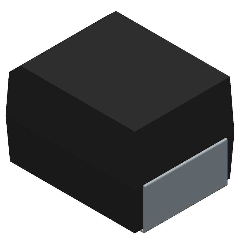 SK1010-TP - Micro Commercial Components (MCC) - 3D model - Diodes Moulded - DO-214AB (HSMC)