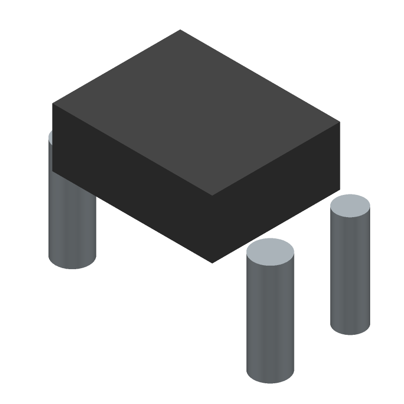 Molex 0476420001 (Other) 3D model isometric projection.