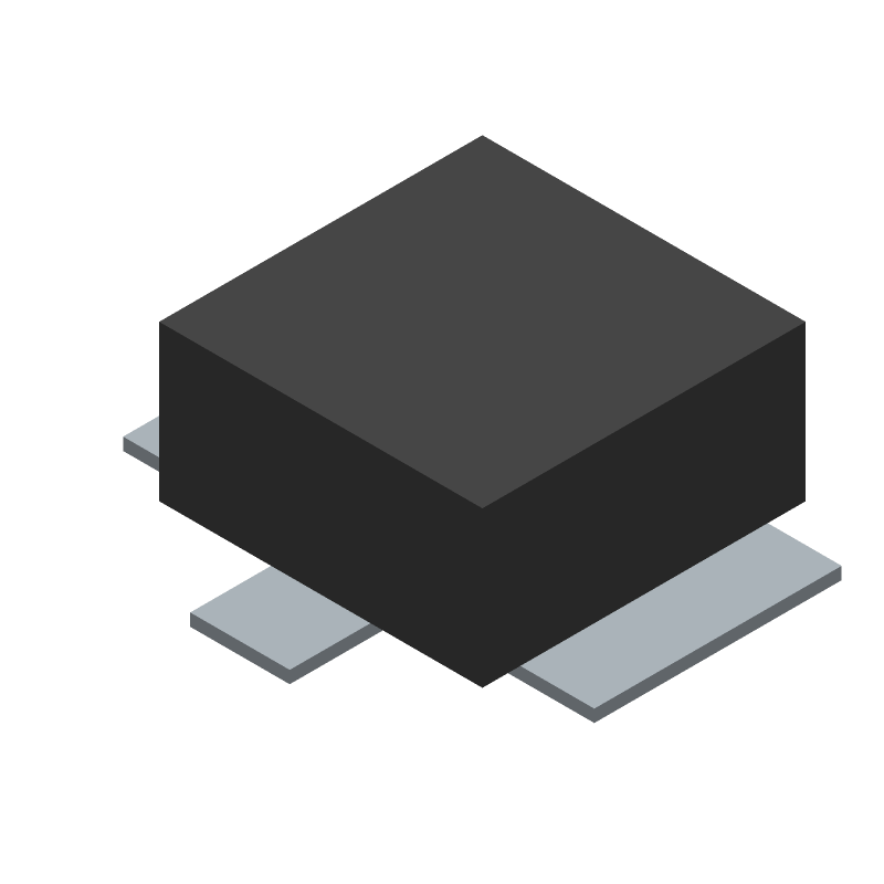 Hirose U.FL-R-SMT(10) (Other) 3D model isometric projection.