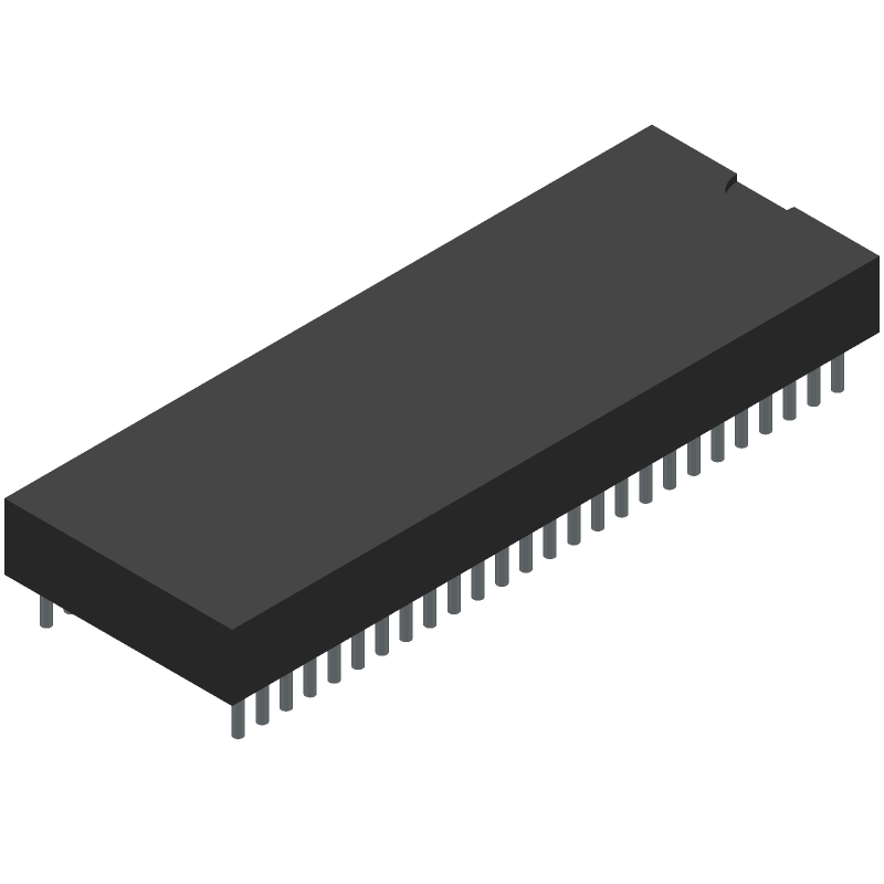CY8CKIT-059 - Cypress Semiconductor - 3D model - Dual-In-Line Packages - DIL52x0.8