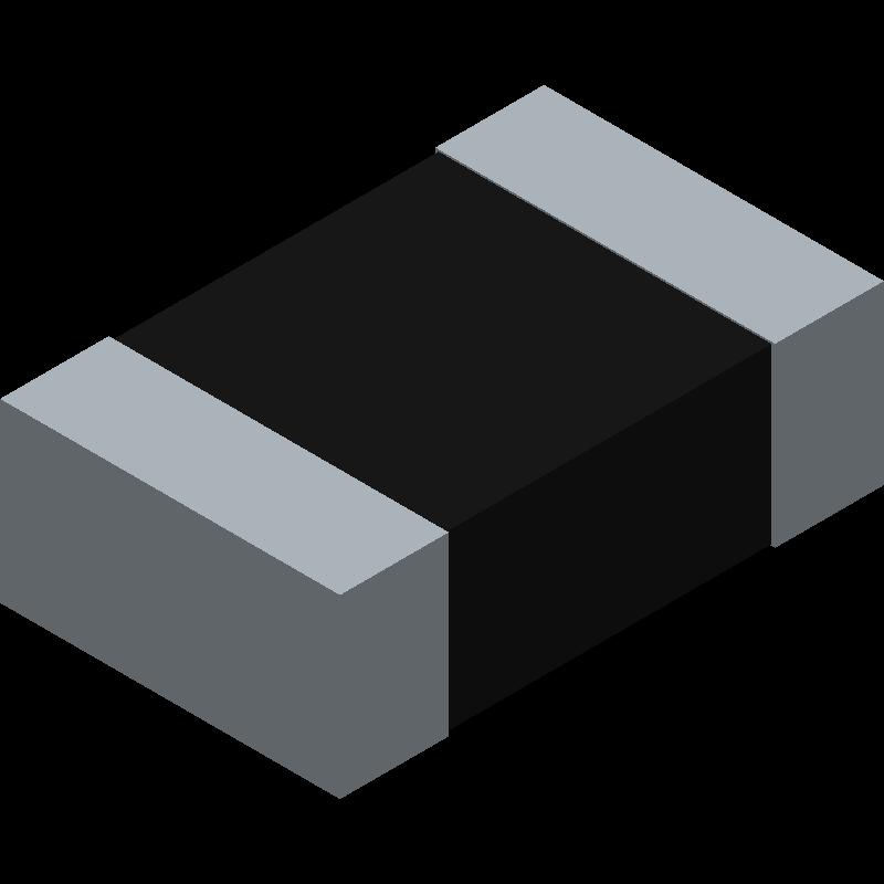 CPF0805B10K2E1 - TE Connectivity - 3D model - Resistor Chip - CPF0805