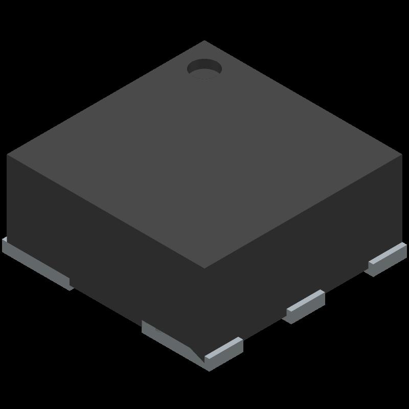 3341 - Adafruit - 3D model - Small Outline No-lead - APA 102-2020 SMD LED