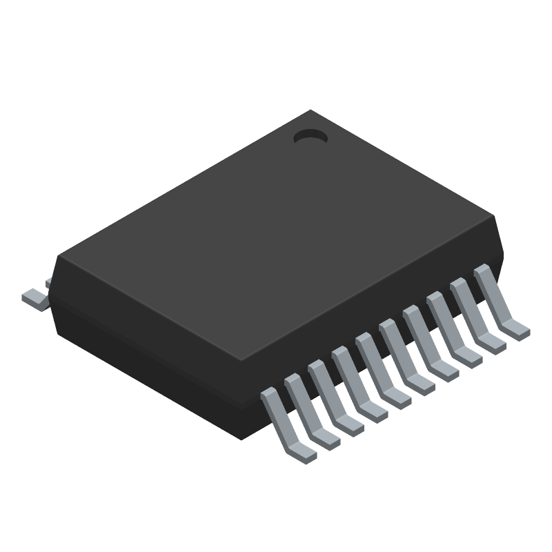 ADN4650BRSZ - Analog Devices - 3D model - Small Outline Packages - RS-20 (SSOP)