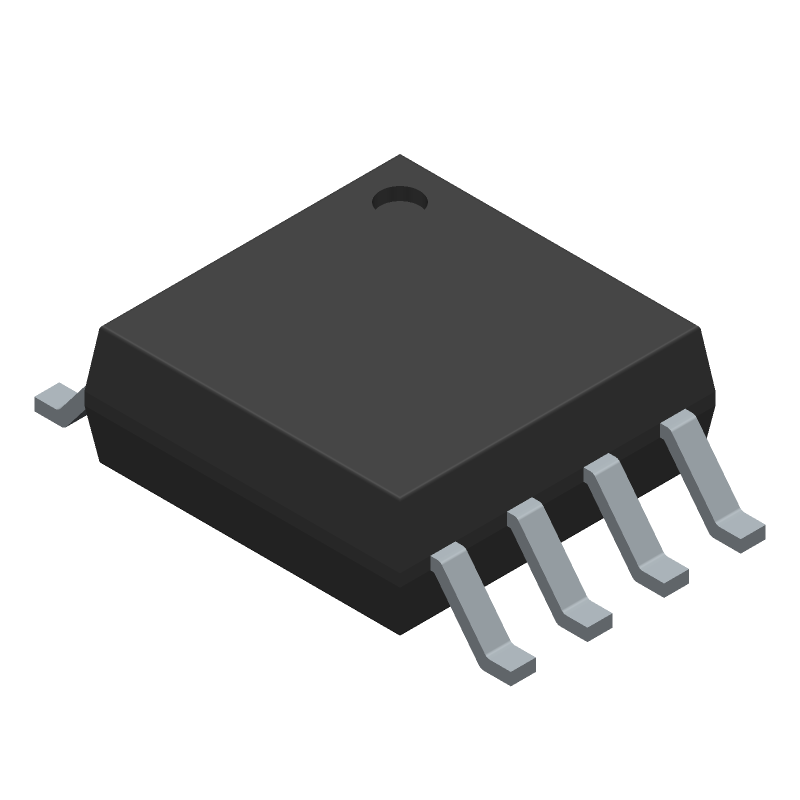 W25Q80DVSSIG - Winbond - 3D model - Small Outline Packages - W25Q80DVSSIG