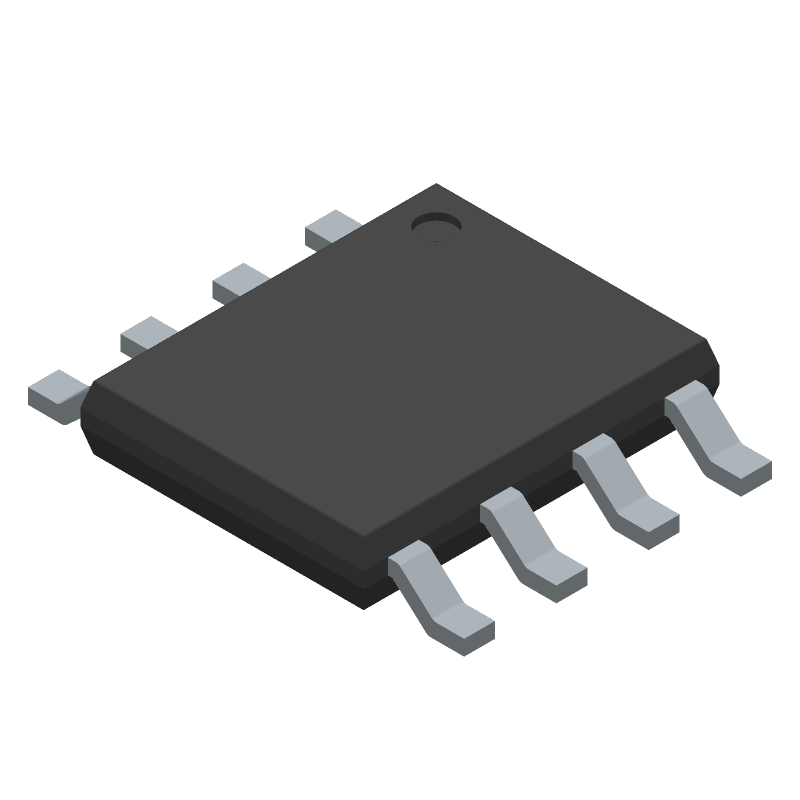 BD33IC0WEFJ-E2 - ROHM Semiconductor - 3D model - Small Outline Packages - HTSOP-J8