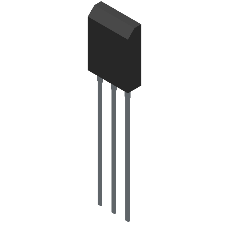NGTB40N120L3WG - ON Semiconductor - 3D model - Transistor Outline, Vertical - TO−247 CASE 340AL ISSUE D