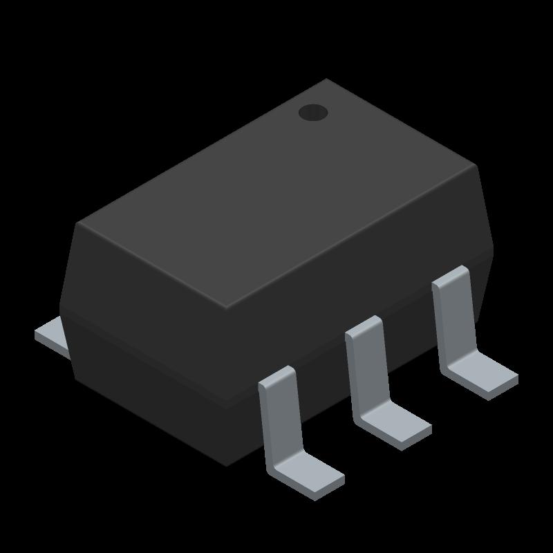 SMF05C - SEMTECH - 3D model - SOT23 (6-Pin) - SC70 6L