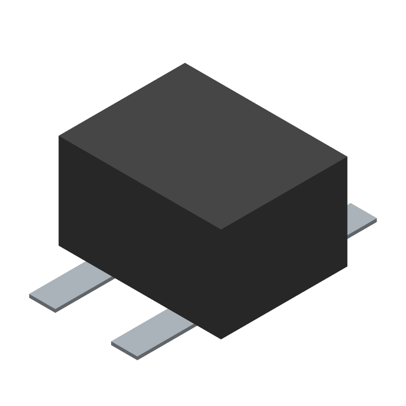 Diodes Inc. MB10S-13 (Other) 3D model isometric projection.