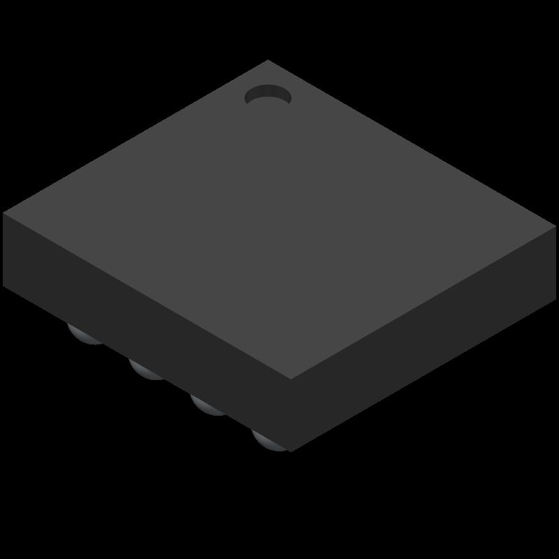 LMG1205YFXT - Texas Instruments - 3D model - BGA - YFX0012_1