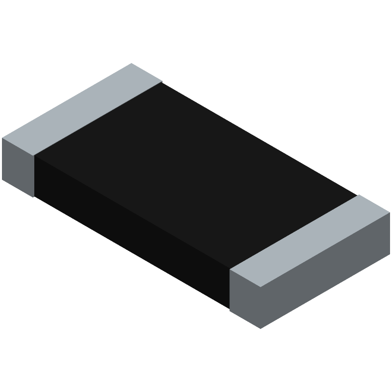 PE2512FKE7W0R01L - YAGEO (PHYCOMP) - 3D model - Resistor Chip - PE2512