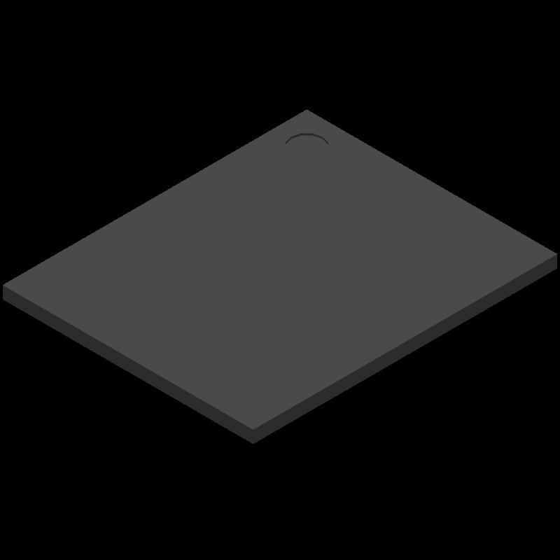 MSCMMXQZCK08AB - Nexperia - 3D model - BGA - SOT1690-2 - flip - chip SIP stackable, 14 x 17