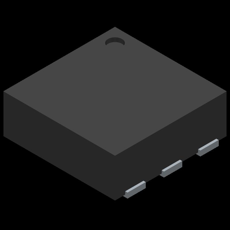 SGP30-2.5k - Sensirion - 3D model - Small Outline No-lead - SGP30