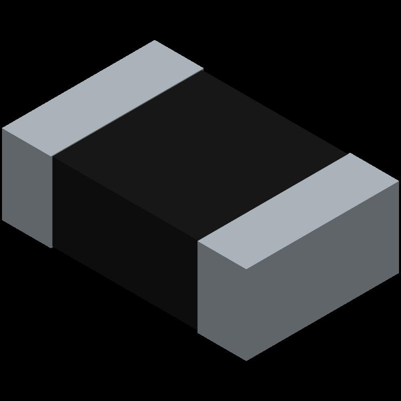 CPF0805B127RE1 - TE Connectivity - 3D model - Resistor Chip - CPF0805