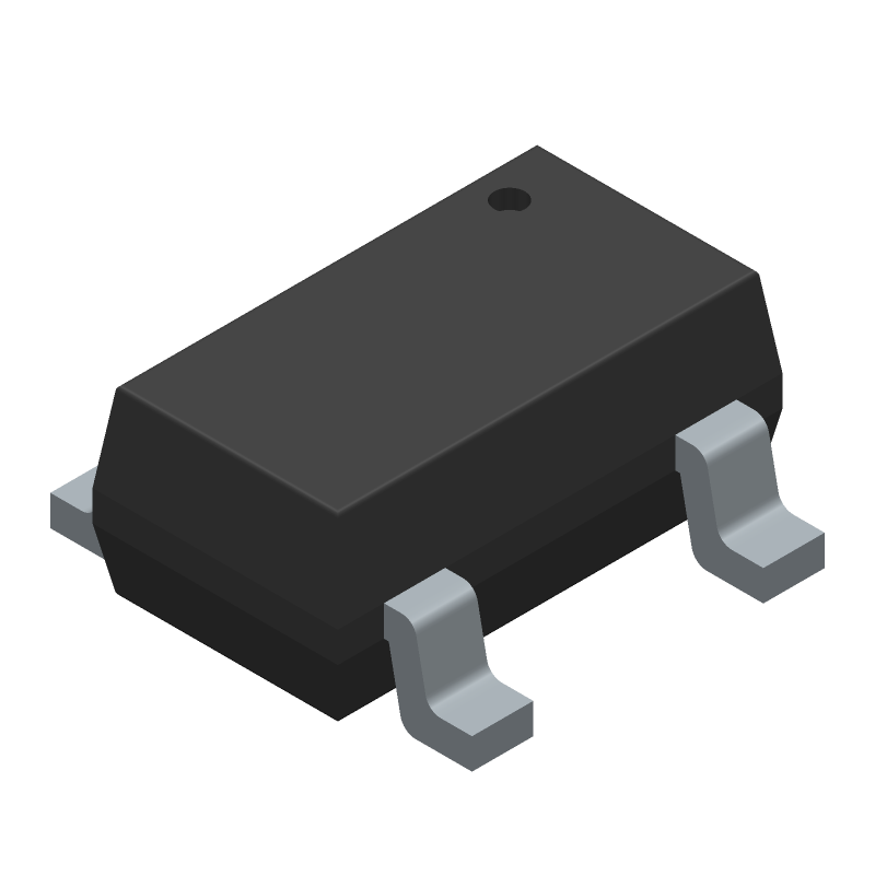 Si7210-B-00-IVR - Silicon Labs - 3D model - SOT23 (5-Pin) - SOT23-5 5-Pin
