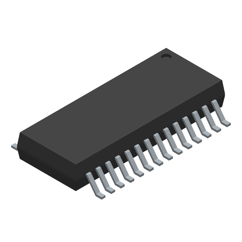 FE1.1S - JFD IC - 3D model - Small Outline Packages - FE1.1S