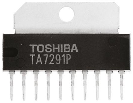 TA7291P(O) - Toshiba - PCB Footprint & Symbol Download