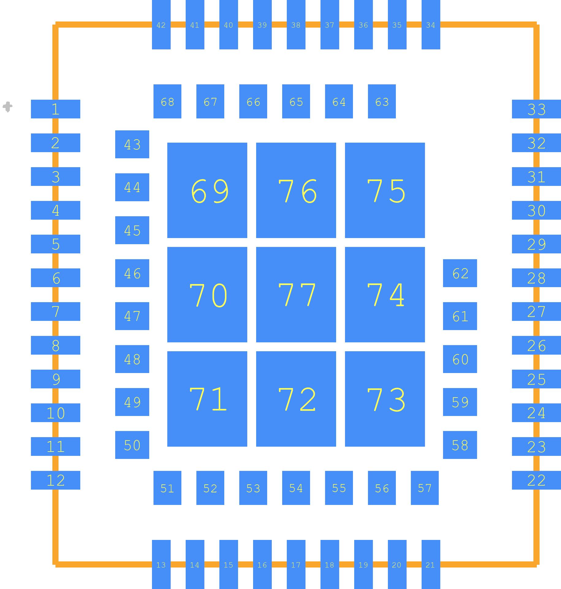 SIM868 - SIMCOM PCB footprint - Other - SIM868
