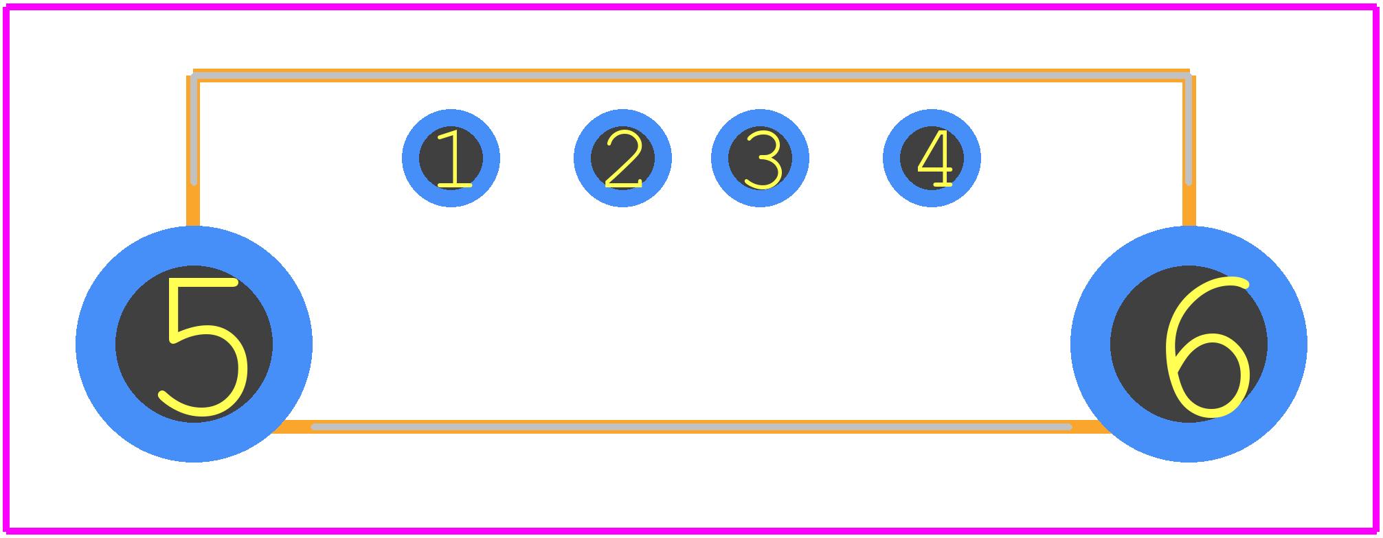 Usb A S F B Vt Samtec Pcb Footprint Symbol Download Schematic Other