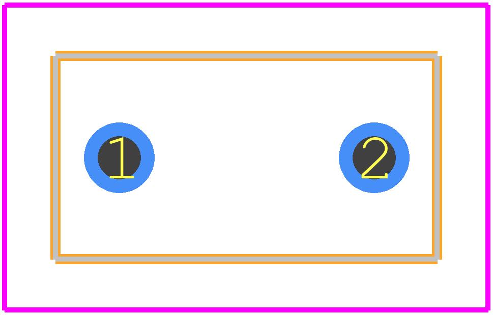 S102K29X5FN6TJ5R - Vishay PCB footprint - Other - S102K29X5FN6TJ5R