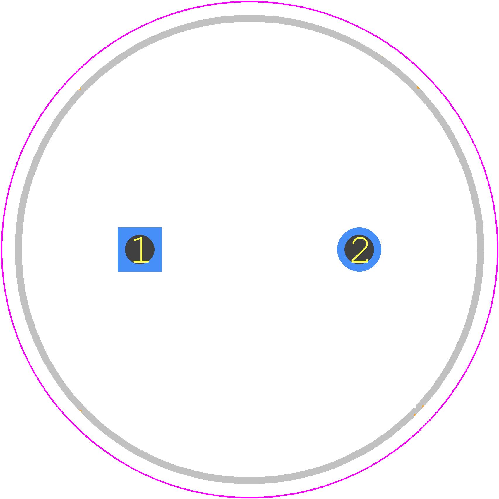 Ucs2w220mhd Nichicon Pcb Footprint Symbol Download