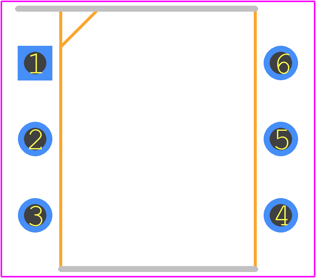 4N33 - Vishay - PCB Footprint & Symbol Download