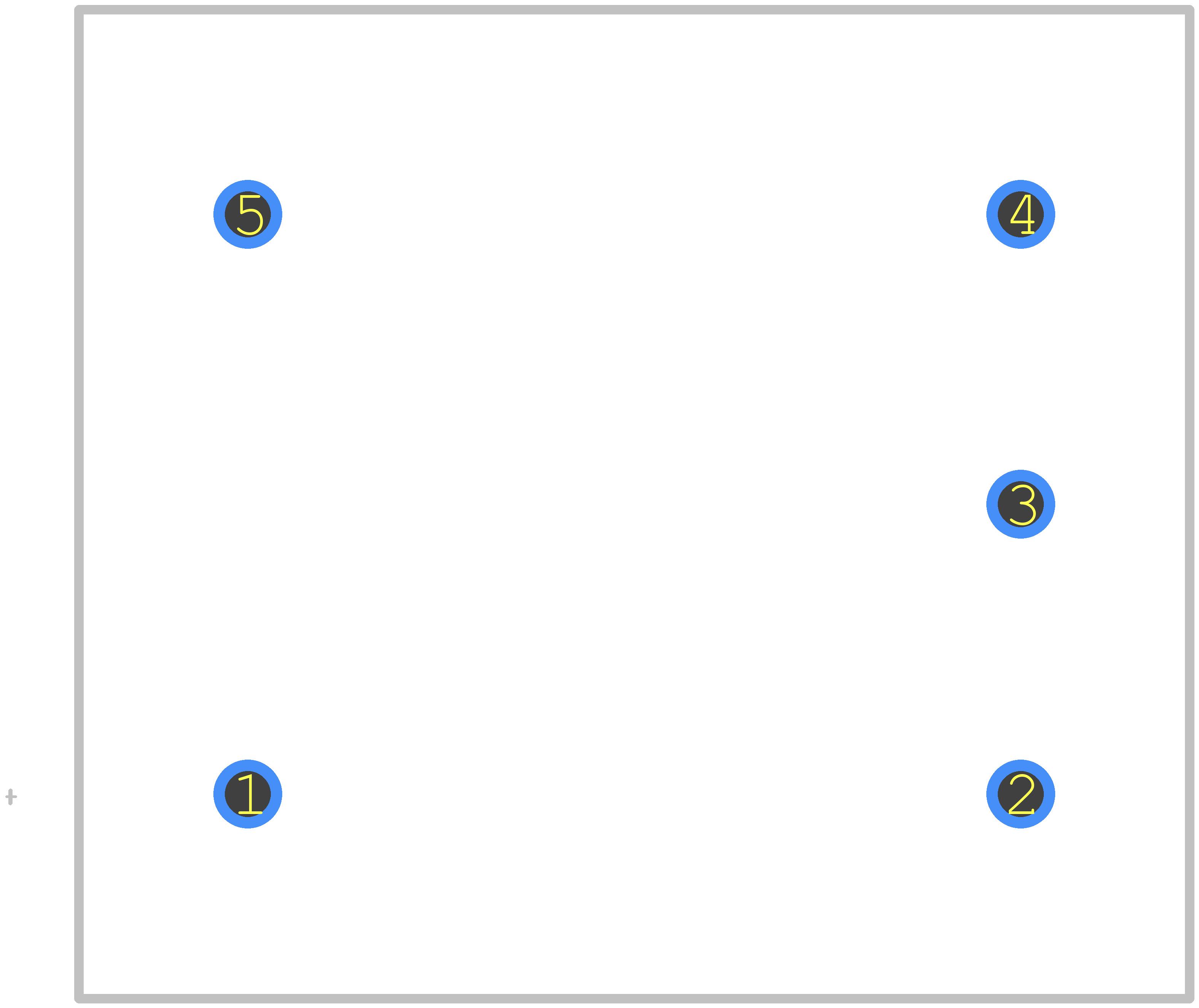 LV 25-P - LEM PCB footprint - Other - LV-25-P