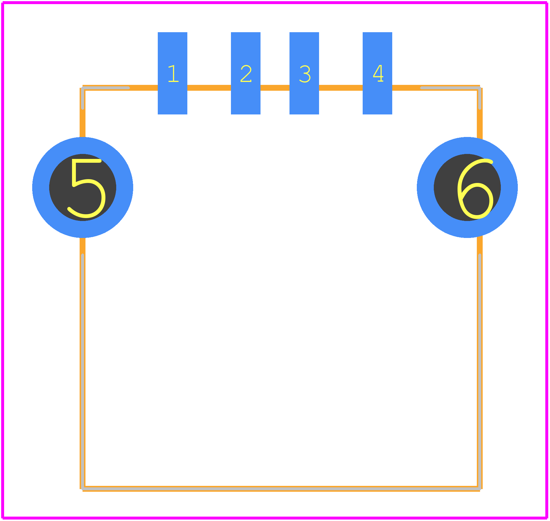 A-USB A/SMT - ASSMANN WSW components GmbH PCB footprint - Other -
