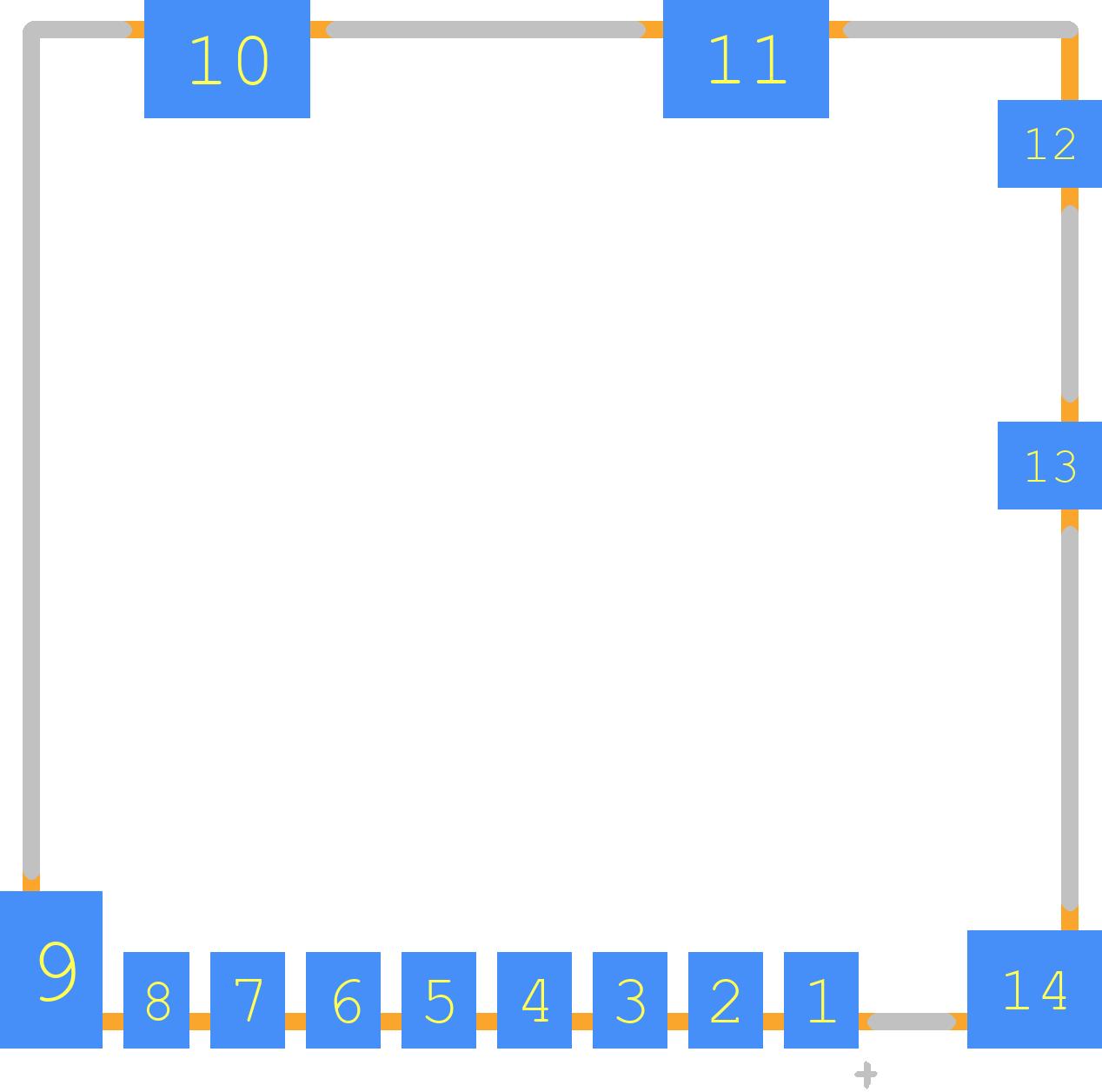 104031-0811 - Molex PCB footprint - Other - 1040310811