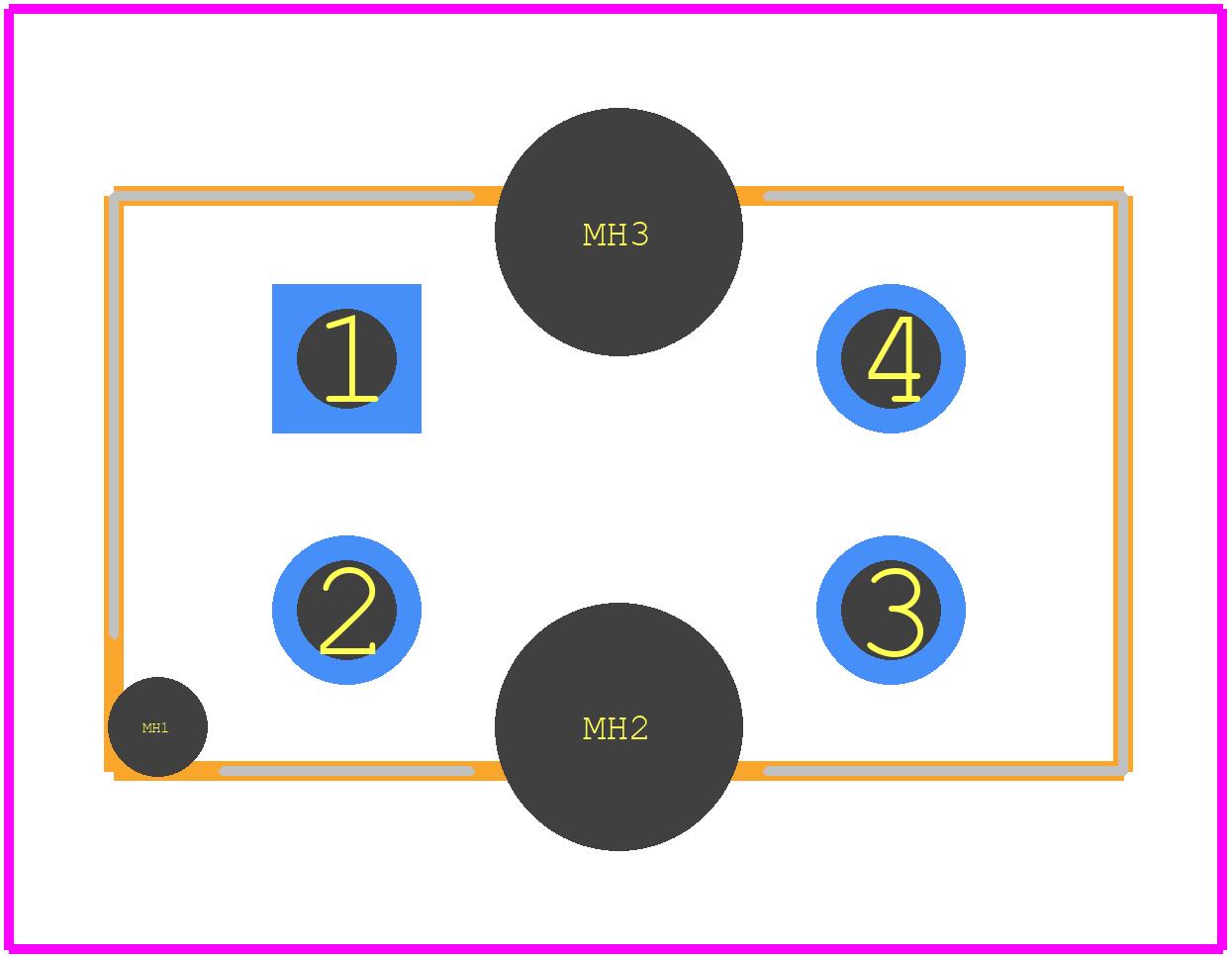 TCRT5000 - Vishay PCB footprint - Other - TCRT5000