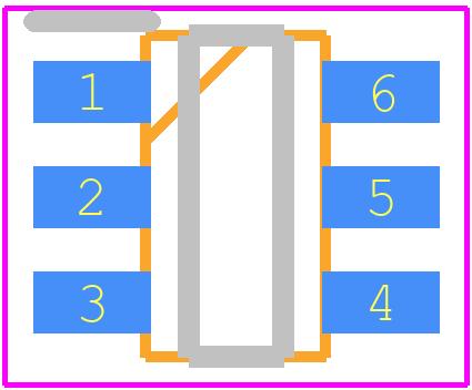 Ltc6992cs6 1trmpbf Linear Technology Pcb Footprint Symbol Common Schematic Symbols Sot23 6 Pin