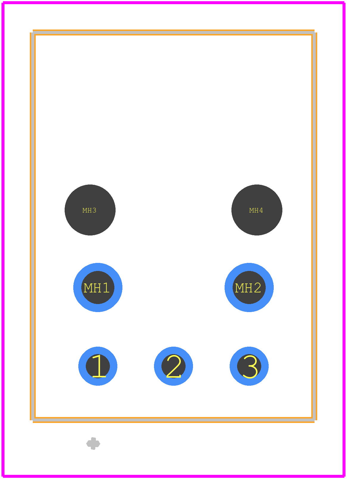 FC684208T - CLIFF ELECTRONIC COMPONENTS - PCB Footprint & Symbol ...