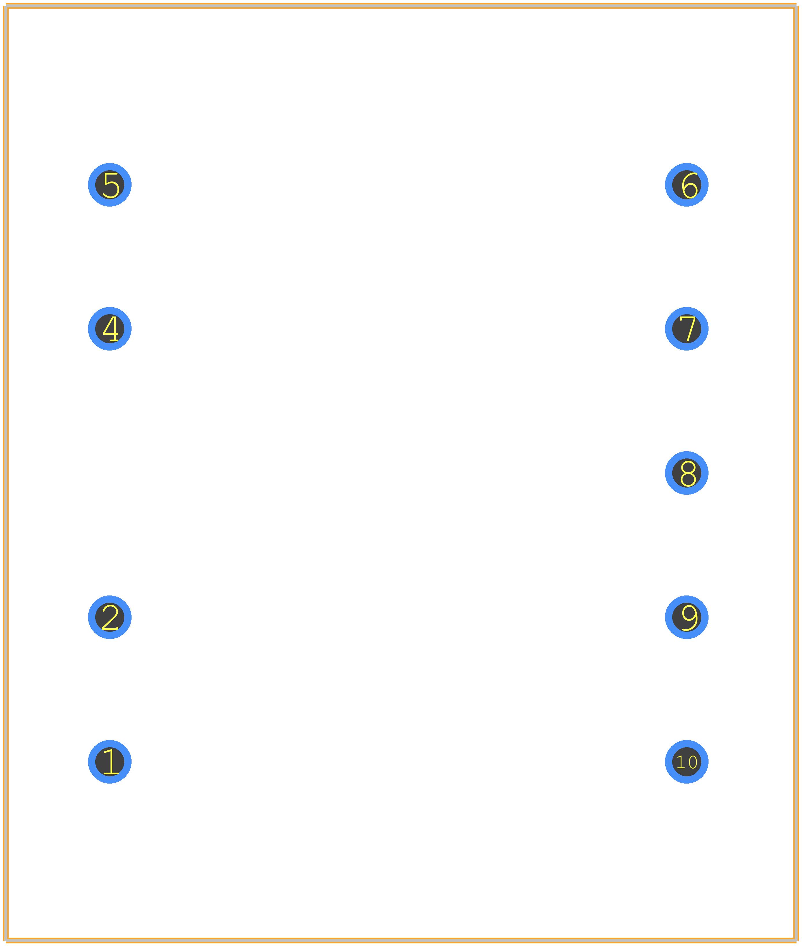 AVB2.3/2/9 - BLOCK PCB footprint - Other - AVB2.3/2