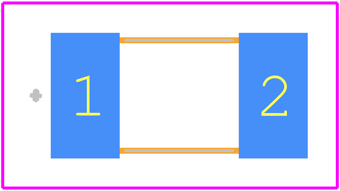 CC1V-1.84320-TA-100 - MICRO CRYSTAL - PCB Footprint & Symbol Download