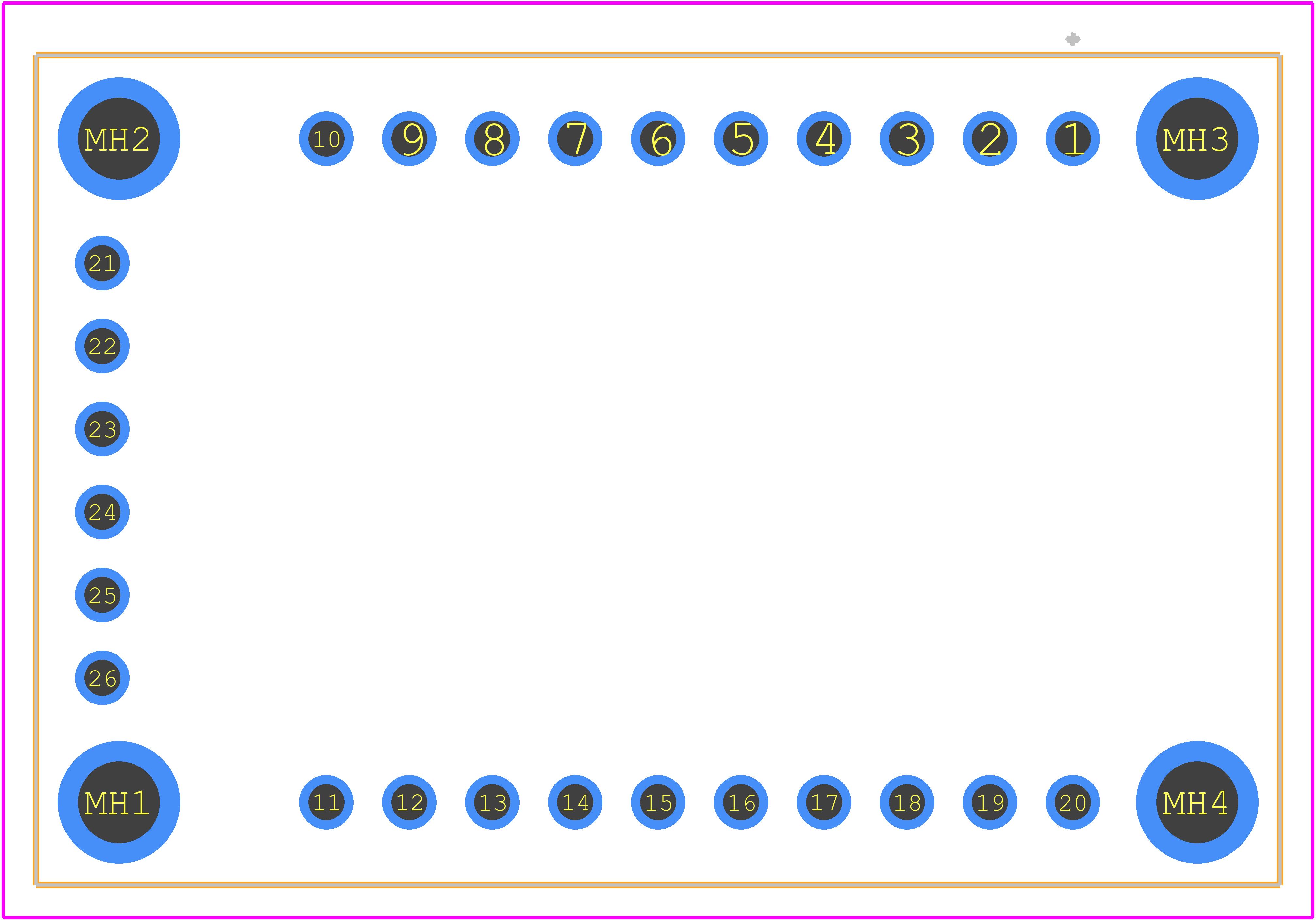 2471 - Adafruit PCB footprint - Other - 2471
